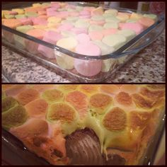 For dessert yesterday I made a chocolate base with marshmallows on top, melted into perfection and eaten with butter biscuits. Yum  #marshmallow #chocolate #marshmallowsandchocolate #intheoven #dessert #sweettooth #KW #Q8 #Kuwait