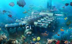 planet ocean underwater hotel, key west, florida
