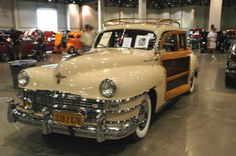 Chrysler Town and Country woody.  Photography by David E. Nelson