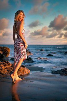 Nine West Riviera Blue Combo Delicate Stretch Flower-Lace Halter Dress