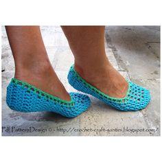 Simple crochet ballerinas  Crochet & Craft