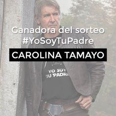 Ganadora del sorteo #YoSoyTuPadre
