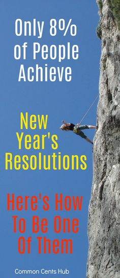 The vast majority of people never achieve their New Year's resolution. Here's why, and how you can enable major changes in your life. #goals #achievement #resolution.
