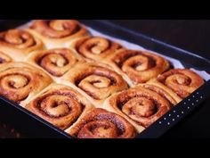Who could resist these homemade cinnamon rolls? Rich and fluffy, with their soft, buttery interior they are totally irresistible. The smell while baking is u...