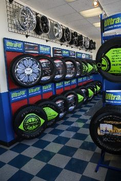 tyre display