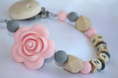 Baby Shower Gifts Wooden Pacifier Holder Dummy Clips Bpa Free Newborn Pacifier Chain Personalise Baby Pacifier Clips