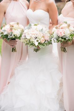 Weddington Way provides many pink bridesmaid dresses & tea rose bridesmaid gowns. Think pink with blush bridesmaid dresses, cameo bridesmaid gowns & more! Tulle Wedding, Wedding Bouquets, Wedding Flowers, Wedding Day, Wedding Dresses, Blush Bridesmaid Dresses, Blush Dresses, Bridesmaid Bouquet, Blush Weddings