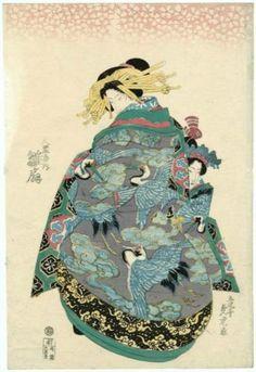 Hinaogi of the Daikokuya  - Utagawa Sadatora