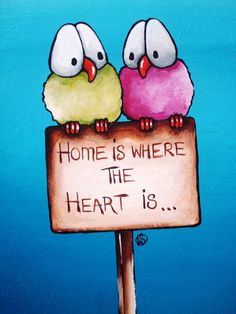 Where the heart is... by Lucia  Stewart on ARTwanted