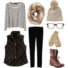 cozy fall outfit! velvet leggings and vest