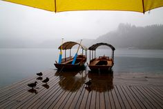 Best Travel Year - Lake Bled, Slovenia - beautiful even in the rain