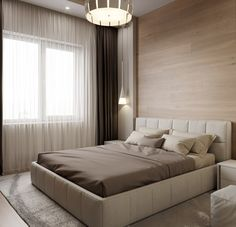 trendy bedroom bed back design