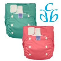 8/10/12 FYSF, Win (2) Bambino Miosolo All In One Cloth Diapers