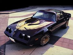 Pontiac Firebird Trans Am Turbo Black & Gold Special Edition (1980 – 1981).