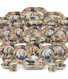 Palais De Buckingham, Vintage High Tea, Art Japonais, And Peggy, China Plates, Japanese Pottery, Antique China, Ginger Jars, China Patterns