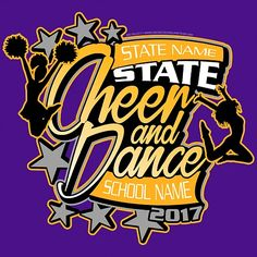 15 Best Cheer and Dance T-Shirt Designs images in 2017 ...