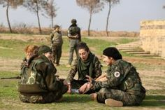 """The """"Female Protection Forces of the Land Between…"""