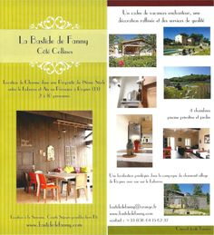 La Bastide de Fanny, location d'une maison de vacances de charme en Provence, aux pieds du Luberon.