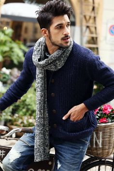 L&C's Wool Knitted Cardigan. #MensFashion #MensWear #Fashion #Shopping #Sweater #GQ #MensLookBook #LookBook #Style