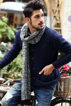 L&C's Wool Knitted Cardigan. #MensFashion #MensWear #Fashion #Shopping…