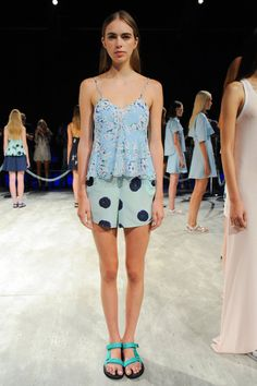 Pin for Later: Pretty in Prints: The Most Wow-Worthy Patterns to Hit the Runway Charlotte Ronson Spring 2015