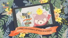This app, Roo&Pibi is designed for both iPhone and iPad. Oh, also can use on Android.