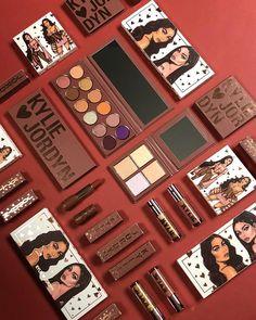 Kylie Jenner X Jordyn makeup set Kids Makeup, Makeup Set, Cute Makeup, Makeup Tools, Makeup Brushes, Eyeshadow Brushes, Cheap Makeup, Makeup Brands, Best Makeup Products