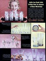 Libbey Glassware, Julia Lee Cook 1963 Ad Picture