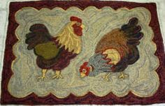 chickens by Mary Johnson