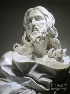 Jesus By Bernini Photograph by Nancy Worrell