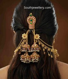 Indian Jewellery Designs - Page 8 of 1779 - Latest Indian Jewellery Designs 2020 ~ 22 Carat Gold Jewellery one gram gold Indian Bridal Jewelry Sets, Indian Jewellery Design, Fancy Jewellery, Antique Jewellery Designs, Stylish Jewelry, Fashion Jewelry, South Indian Jewellery, Wedding Jewelry, Jewelry Design Earrings