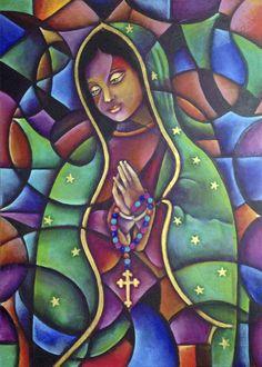 Virgen de Guadalupe Acrílico