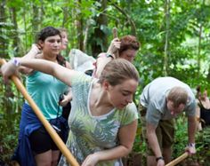 Conservation and Protection Project of the Agalychnis Lemur and Cruziohyla Calcarifern with volunteers from EcoTeach