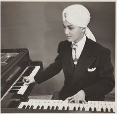 In a town where everyone reinvents themselves, Korla Pandit's transformation stands out.