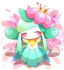 Shiny Lilligant she's so cute!