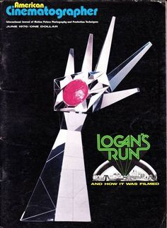 Logan's Run and how it was filmed.  American Cinematographer Magazine, June 1976. Los Angeles: American Society of Cinematography, 1976.