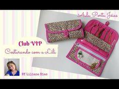 Venha fazer parte do CLUB VIP Costurando com a Lili - YouTube
