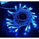 20 LED 2meter Fairy Christmas Halloween Wedding Lights 2m Blue & Battery Operated