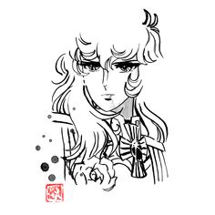 #ladyoscar #manga #sumie #japan Sumi E Painting, Print Artist, Oscars, Cool Artwork, Buy Art, Paper Art, Saatchi Art, Original Art, Poster Prints