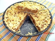 Pudingos almás pite Fruit Recipes, Cookie Recipes, Recipies, Smoothie Fruit, Quiche, Winter Food, Food And Drink, Sweets, Snacks