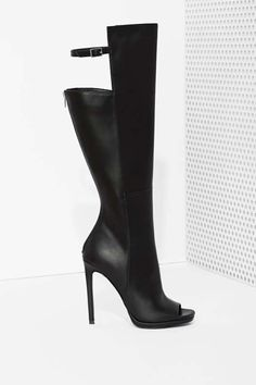 Shoe Cult Meari Knee High Boot - Boots Nasty Gal $130