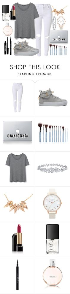 """""""back2school"""" by lipsy-look ❤ liked on Polyvore featuring BUSCEMI, Vinyl Revolution, MANGO, Harry Winston, Topshop, Lancôme, NARS Cosmetics, Givenchy, Chanel and Lord & Berry"""