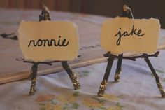 freely ronnie: easy diy | place settings