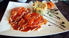 Medalion Porc Roco Izvin Restaurant, Muffin, Pork, Muffins, Diner Restaurant, Restaurants, Dining
