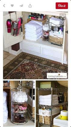 8a22f42738460 20 Bathroom Organization Ideas via A Blissful Nest
