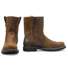 #EBFallFavorites  I'd try them....  Wolverine® Heritage Pull-On Boots