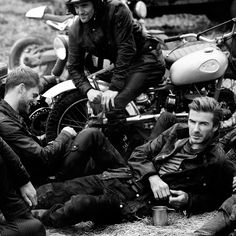 We look to style icon David Beckham for inspiration on how to wear the legendary biker look. Inspired by his own vintage biker jacket, Beckham has collaborated with Belstaff on a capsule collection of exclusively designed pieces that are essential to the moto lifestyle.
