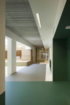 Built by VenhoevenCS in Rotterdam, The Netherlands with date Images by Luuk Kramer. Villa Vonk is a community school with sports hall, toddlers' playgroup, after-school care, youth centre and welfare f. Interior Design Software, Salon Interior Design, Beauty Salon Interior, Interior Doors, School Architecture, Architecture Details, Interior Architecture, Installation Architecture, Villa