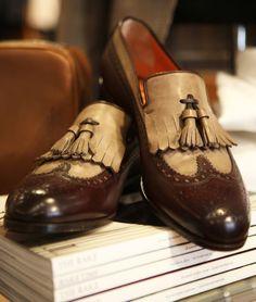 Santoni Shoes x Rose