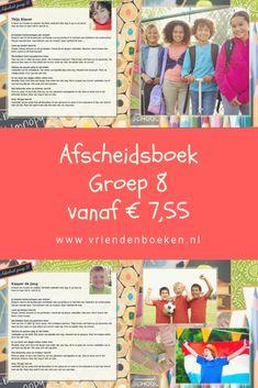 Verwonderlijk De 44 beste afbeeldingen van Groep 8 - Vriendenboeken.nl in 2020 VV-32
